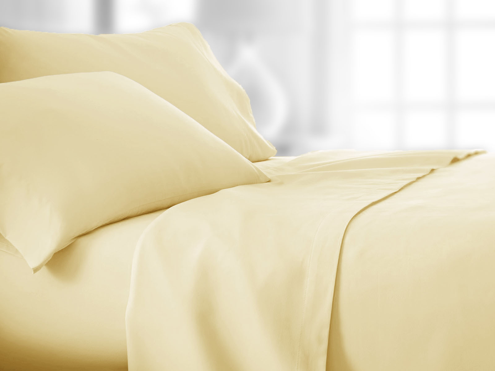 Pościel Fleuresse Colours Uni Vanilla 240x220