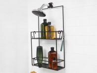 Organizer/ półka pod prysznic Umbra Cubiko Black..