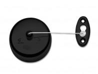 Sznur do suszenia prania ścienny rozciągany Decor Walther Basic BA WL Black Matt..