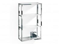 Regał/ szafka łazienkowa ścienna Decor Walther ET 6 Glass Clear..