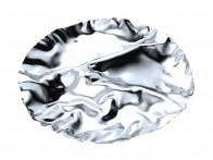 Półmisek na przekąski Alessi Pepa L Silver..