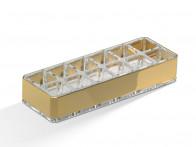 Organizer na kosmetyki/ szminki Decor Walther DW 407 Acryllic Gold..