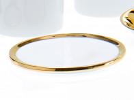 Podstawka łazienkowa Decor Walther SA L Porcelain Gold..
