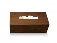 Pudełko na chusteczki nablatowe/ścienne Decor Walther WO KBE Wood Thermo-ash..