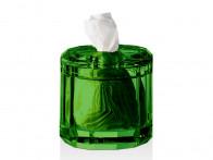 Pudełko na chusteczki Decor Walther KR KB Crystal English Green..