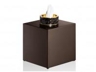 Pudełko na chusteczki Decor Walther Rocks Swarovski Crystal KB Dark Bronze..