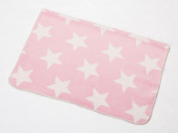 Kocyk DF Bamboo Panda Starry Night Pink 75x100..