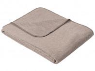 Koc Ibena Organic Wool Auckland Brown 140x200