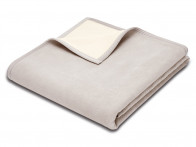Koc Biederlack Wool Pure Nature Silver 130x170..