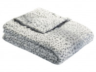 Koc futrzany Bugatti Fur Light Grey 150x200..
