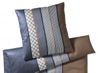 Poszewka Joop Cornflower Stripes Blue Brown 80x80..