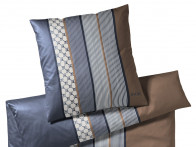 Poszewka Joop Cornflower Stripes Blue Brown..