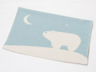 Kocyk DF Finn Night Bear Blue 65x90..