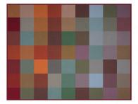 Koc Biederlack Colour Woven 150x200..