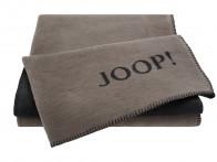 Koc Joop Doubleface Uni Taupe-Antrazit 150x200..
