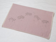 Kocyk DF Eco Sheep Pink 100x140..