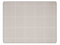 Koc Biederlack Wool Grid Grey 150x200..