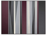 Koc Biederlack Irregular Purple 150x200..