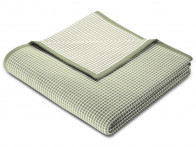 Koc Biederlack Check Salvia Green 150x200..