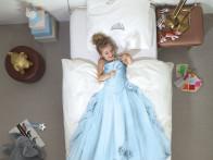 Pościel Snurk Princess Blue 140x200..