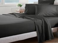 Prześcieradło Curt Bauer Uni Comfort Black 100x200..