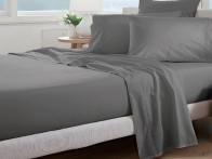 Prześcieradło Curt Bauer Uni Comfort Grey 100x200..