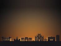Dekoracja Radius Light City Milano..