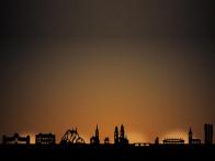 Dekoracja Radius Light City Zurich..