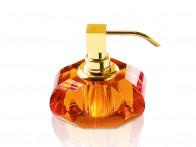 Dozownik do mydła Decor Walther KR SSP Crystal Amber Gold..