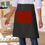 Fartuszek Chef Black-Red..