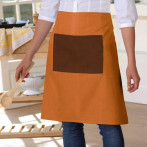 Fartuszek Chef Orange-Brown..