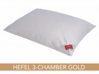Poduszka puchowa Hefel Gold Down 3-Chamber 40x40..