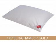 Poduszka puchowa Hefel Gold Down 3-Chamber 50x70..