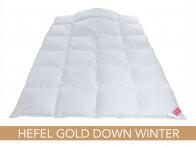 Kołdra puchowa Hefel Gold Down Winter 220x240..