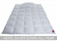 Kołdra puchowa Hefel Silver Down All-Year Medium 240x220..