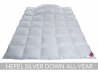 Kołdra puchowa Hefel Silver Down All-Year Light 240x220..