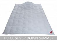 Kołdra puchowa Hefel Silver Down Summer 155x200..