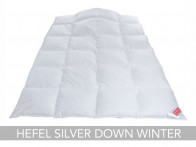 Kołdra puchowa Hefel Silver Down Winter 155x200..