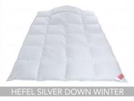 Kołdra puchowa Hefel Silver Down Winter 240x220..