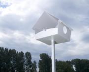 Karmnik dla ptaków Radius Piep Show XXL White