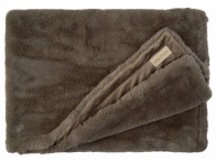 Koc futrzany Winter Home Guanaco Smoke 140x200..