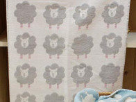 Kocyk DF Finn Sheeps Beige 65x90