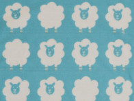 Kocyk DF Finn Sheeps Blue 65x90..