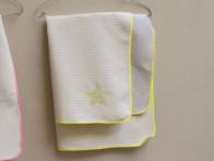 Kocyk DF Juwel Star&Strips Lime 70x90..