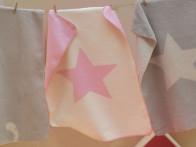 Kocyk DF Niki Star Pink 75x100..