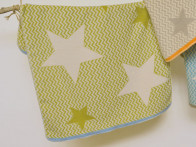 Kocyk DF Organic Maja Constellation Green 75x100..