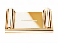 Półka ścienna na mydło Decor Walther Mikado MK WSS Gold..