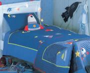 Pościel dziecięca Apeno Space Land 140x200..