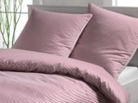 Pościel Elegante Mild Stripes Pink 155x200..