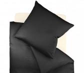 Pościel Fleuresse Colours Uni Black 155x220..